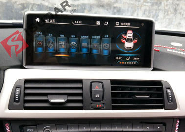 Mirrorlink Android 4.4 Car Dvd Player , BMW 1 Series Sat Nav System Support IDrive
